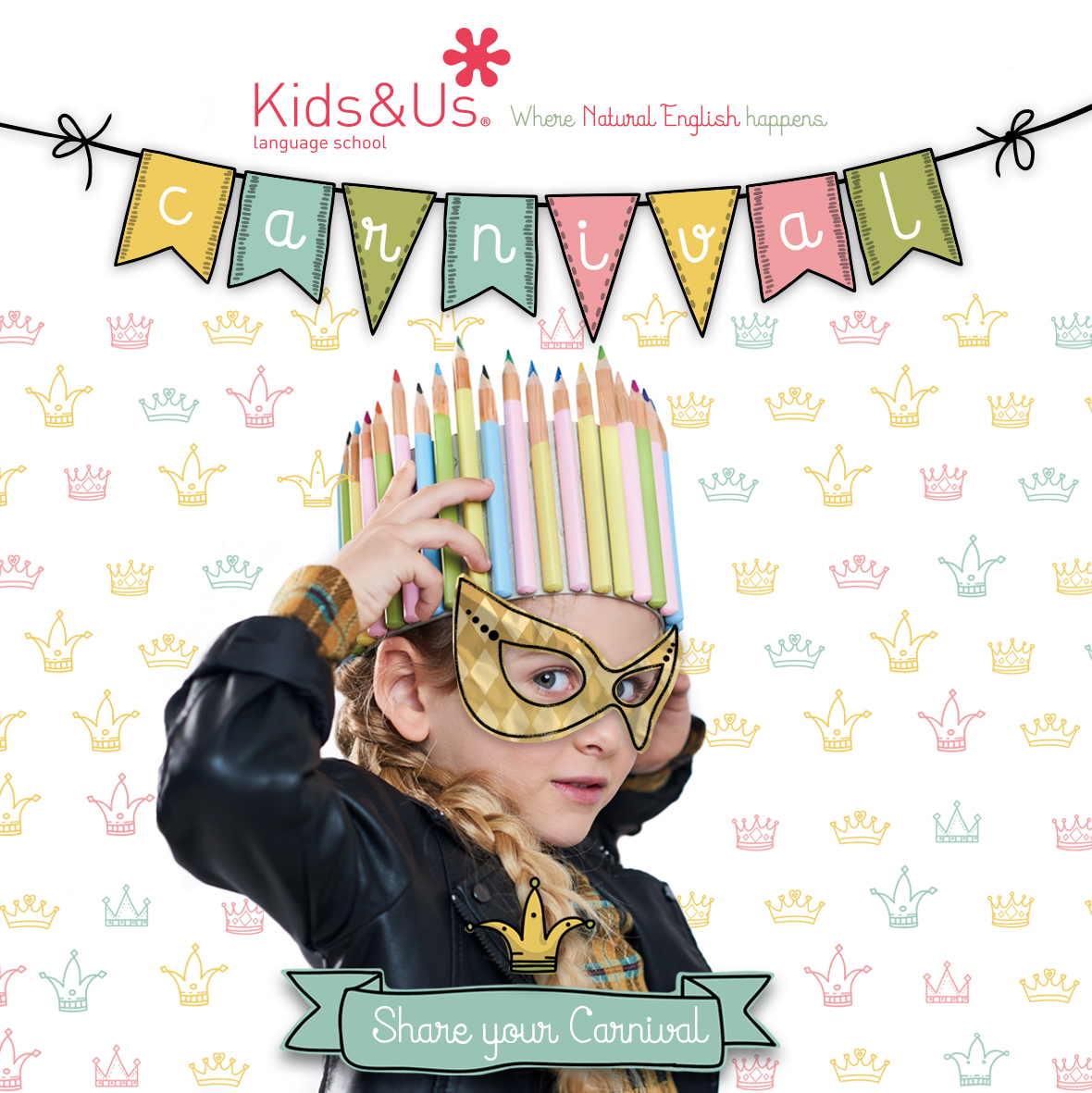 Carnival time at Kids&Us!